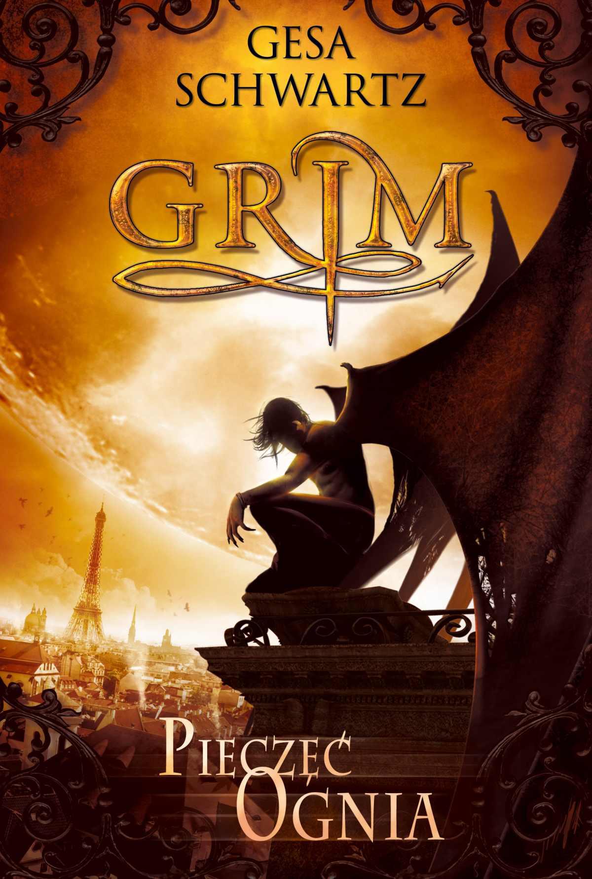 Pieczęć ognia. Grim - Ebook (Książka EPUB) do pobrania w formacie EPUB