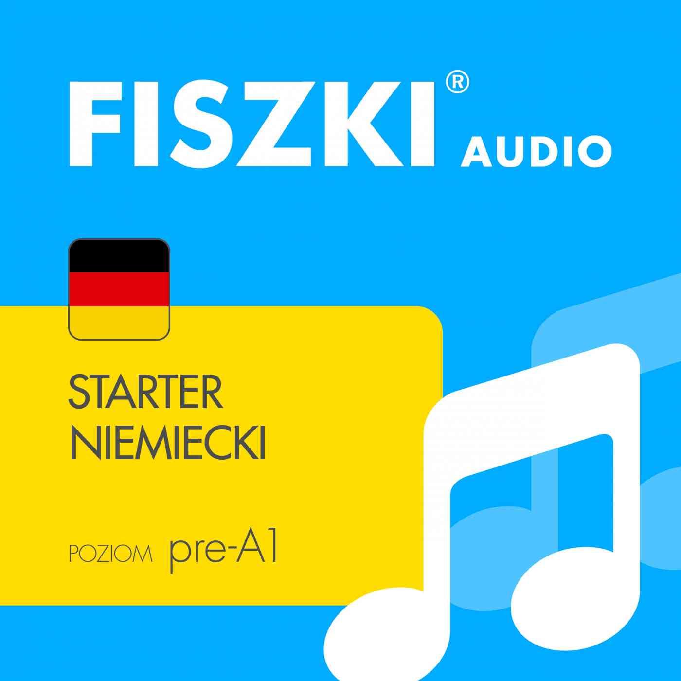 FISZKI audio - j. niemiecki - Starter - Audiobook (Książka audio MP3) do pobrania w całości w archiwum ZIP