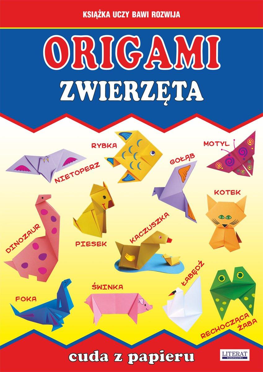 Origami. Zwierzęta. Cuda z papieru - Ebook (Książka PDF) do pobrania w formacie PDF