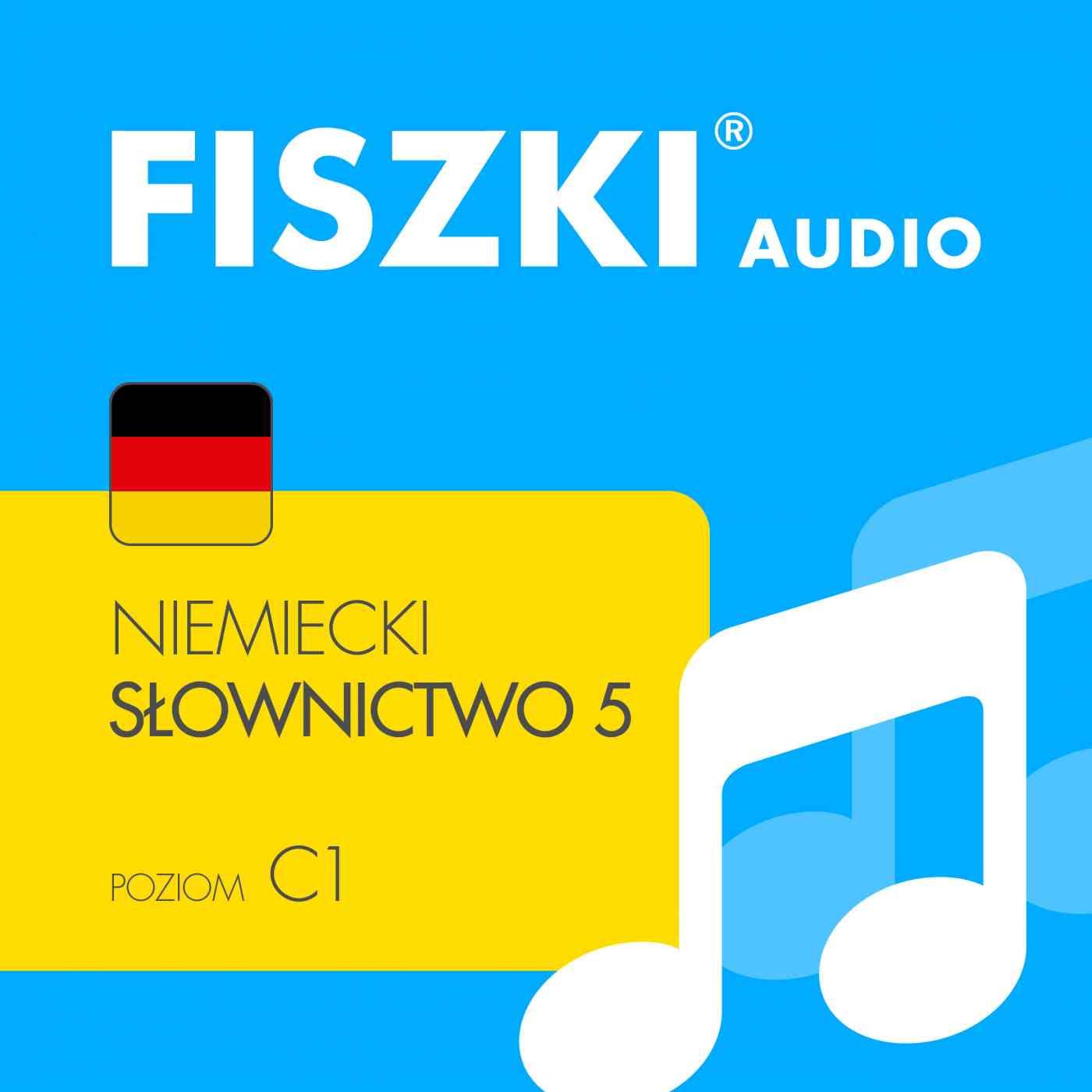 FISZKI audio - j. niemiecki - Słownictwo 5 - Audiobook (Książka audio MP3) do pobrania w całości w archiwum ZIP