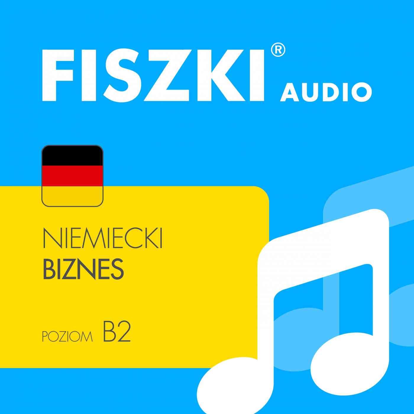 FISZKI audio - j. niemiecki - Biznes - Audiobook (Książka audio MP3) do pobrania w całości w archiwum ZIP