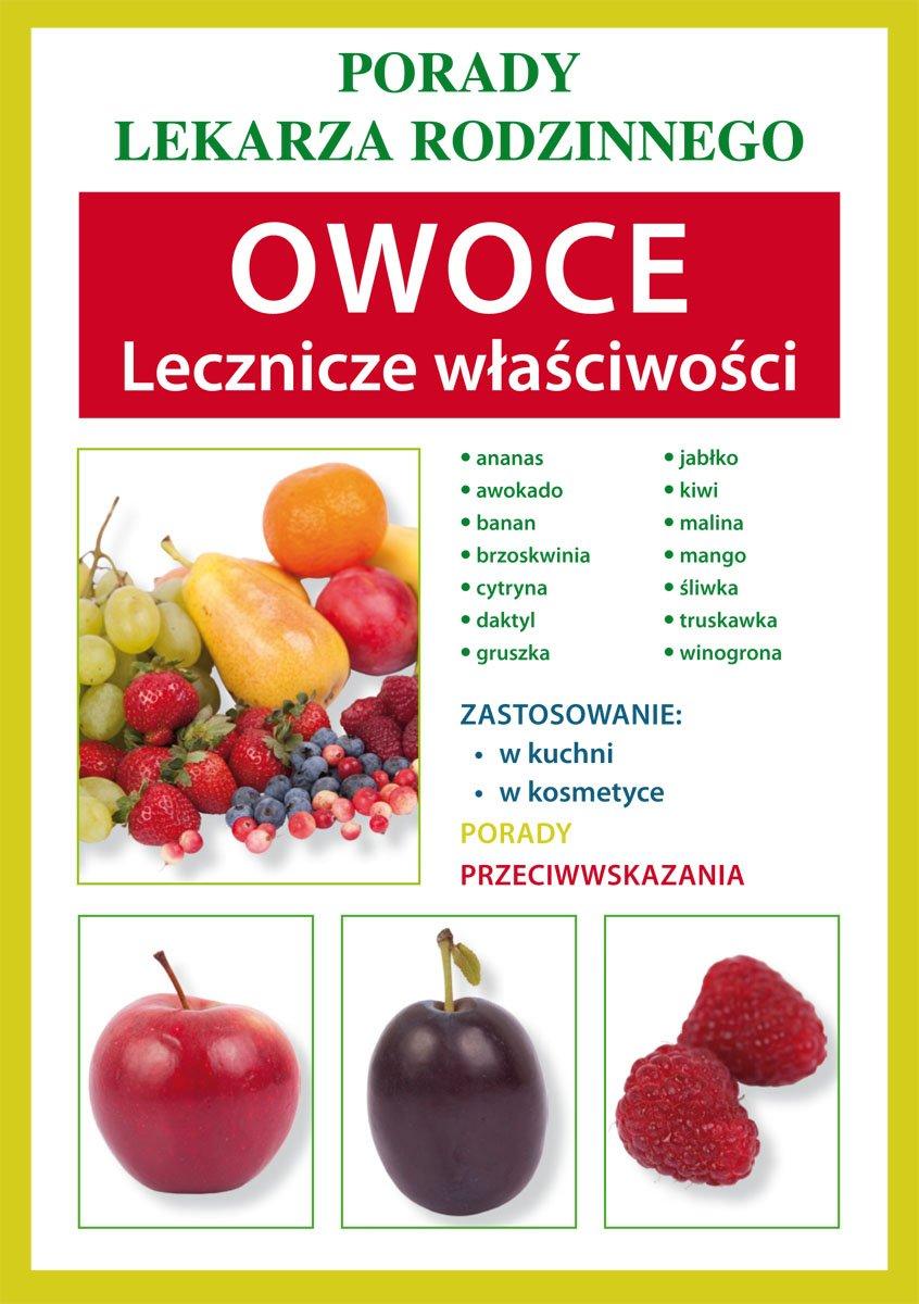 Owoce. Lecznicze właściwości - Ebook (Książka PDF) do pobrania w formacie PDF