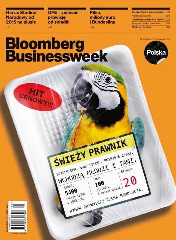 """""""Bloomberg Businessweek"""" wydanie nr 20/13 - Ebook (Książka PDF) do pobrania w formacie PDF"""