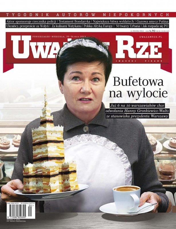 """""""Uważam Rze. Inaczej pisane"""" nr 20/2013 - Ebook (Książka PDF) do pobrania w formacie PDF"""