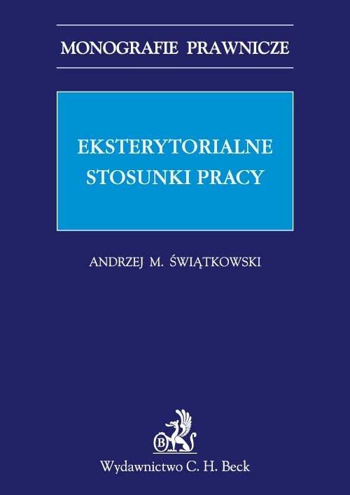 Eksterytorialne stosunki pracy - Ebook (Książka PDF) do pobrania w formacie PDF
