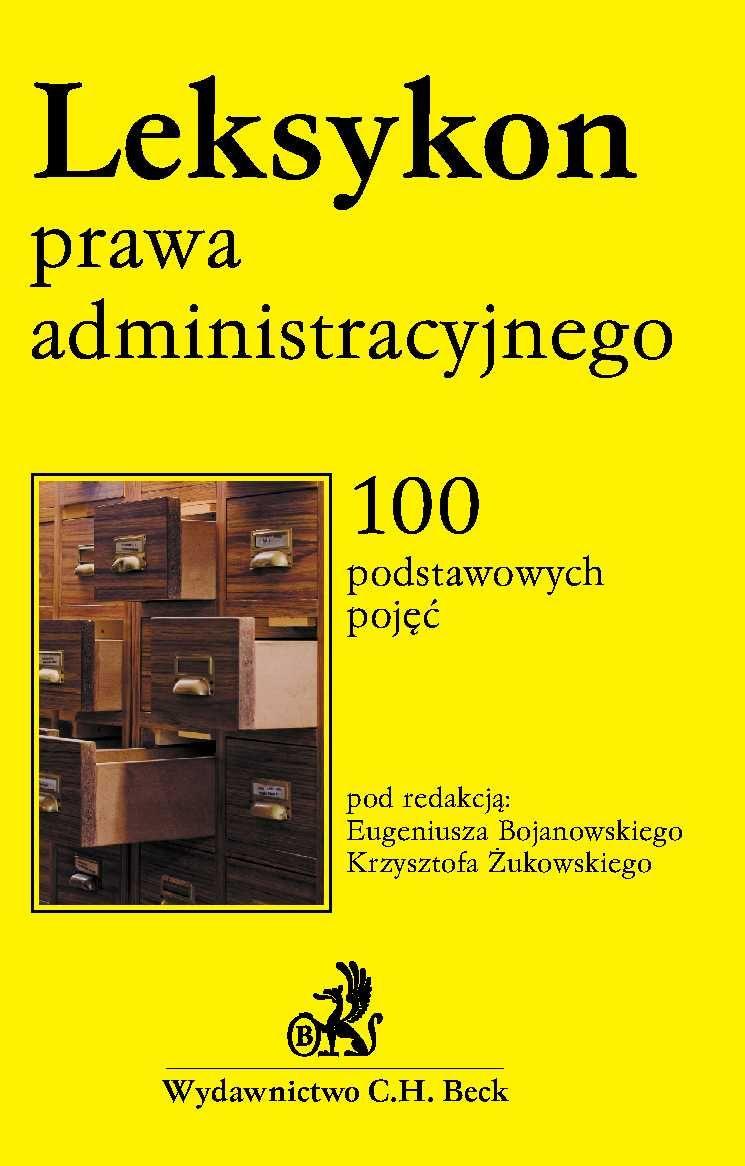 Leksykon prawa administracyjnego - Ebook (Książka PDF) do pobrania w formacie PDF