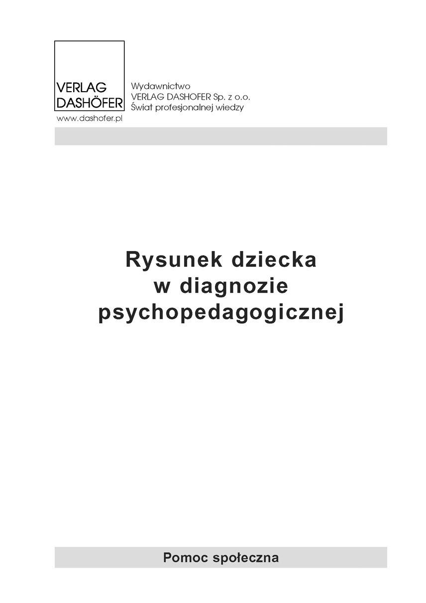 Rysunek dziecka w diagnozie psychopedagogicznej - Ebook (Książka PDF) do pobrania w formacie PDF