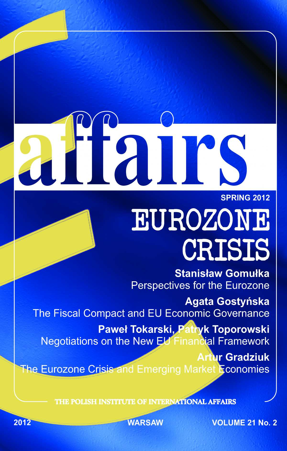 The Polish Quarterly of International Affairs 2/2012 - Ebook (Książka PDF) do pobrania w formacie PDF