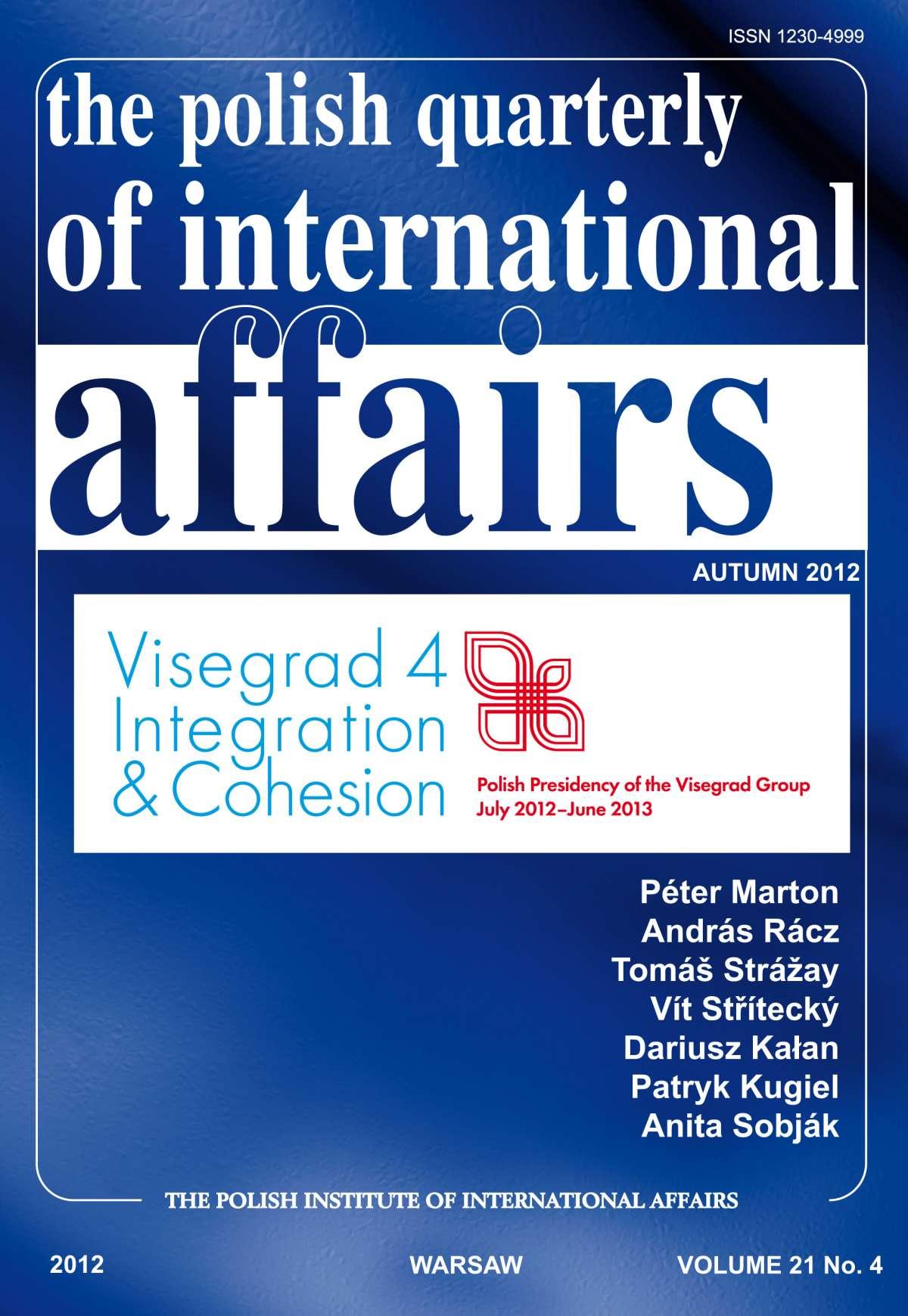 The Polish Quarterly of International Affaiers 4/2012 - Ebook (Książka PDF) do pobrania w formacie PDF