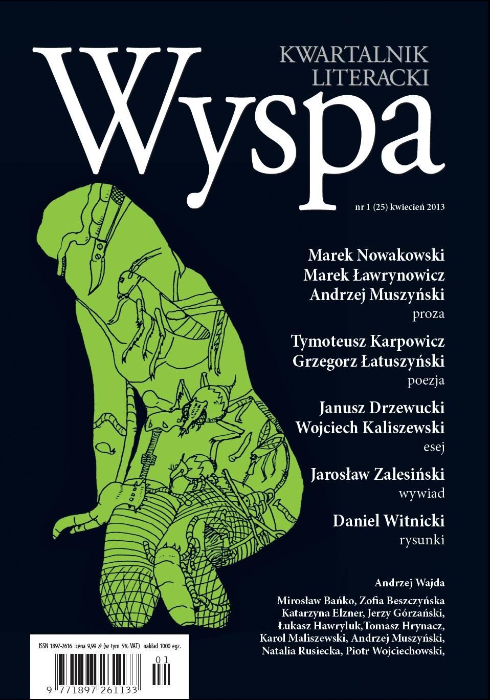 WYSPA Kwartalnik Literacki - nr 1/2013 (25) - Ebook (Książka PDF) do pobrania w formacie PDF
