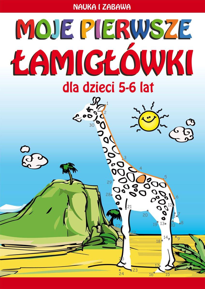 Moje pierwsze łamigłówki. Dla dzieci 5-6 lat. Nauka i zabawa - Ebook (Książka PDF) do pobrania w formacie PDF