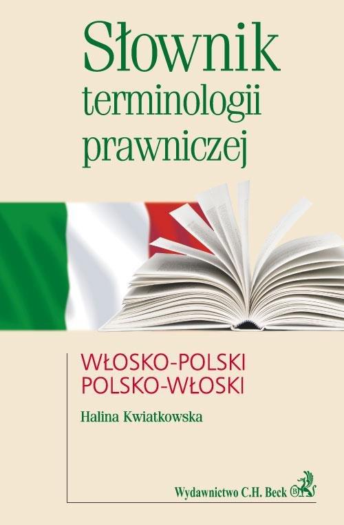 Słownik terminologii prawniczej włosko-polski polsko-włoski - Ebook (Książka PDF) do pobrania w formacie PDF