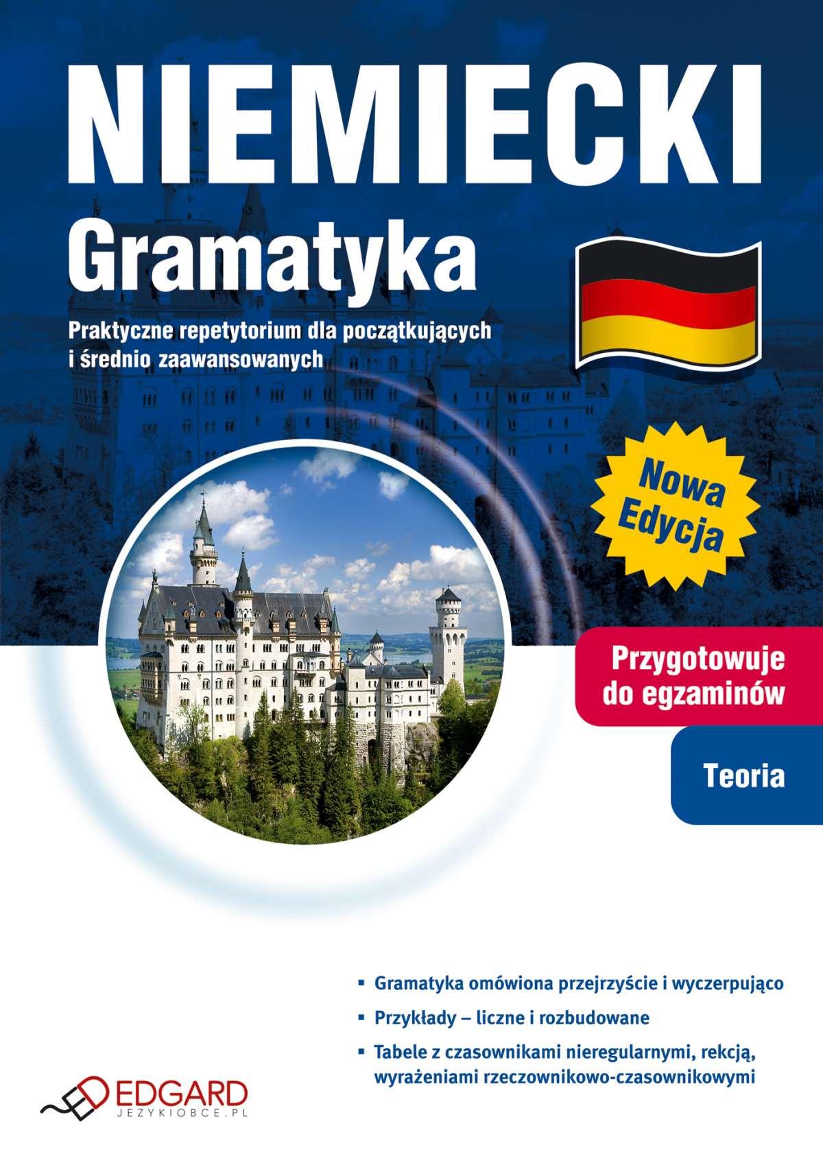Niemiecki Gramatyka. Praktyczne repetytorium dla początkujących i średnio zaawansowanych - Ebook (Książka na Kindle) do pobrania w formacie MOBI