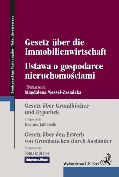 Ustawa o gospodarce nieruchomościami Gesetz uber die Immobilienwirtschaft - Ebook (Książka EPUB) do pobrania w formacie EPUB