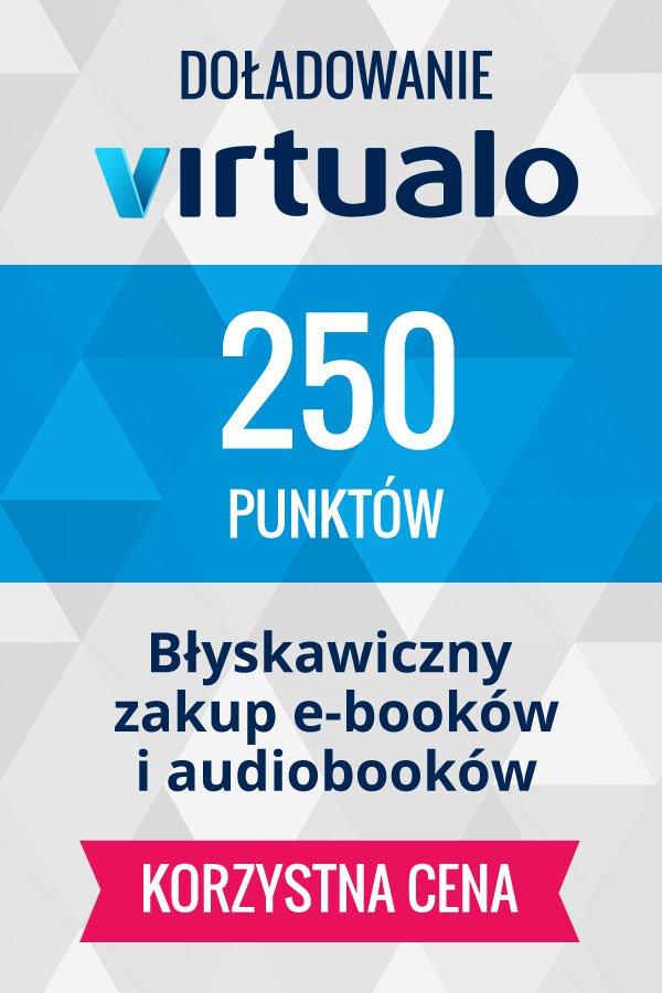 Doładowanie punktów Virtualo - 250 punktów -