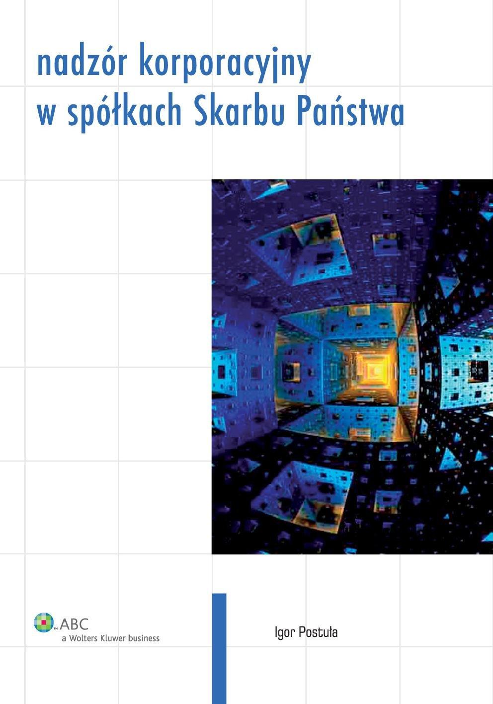 Nadzór korporacyjny w spółkach Skarbu Państwa - Ebook (Książka PDF) do pobrania w formacie PDF