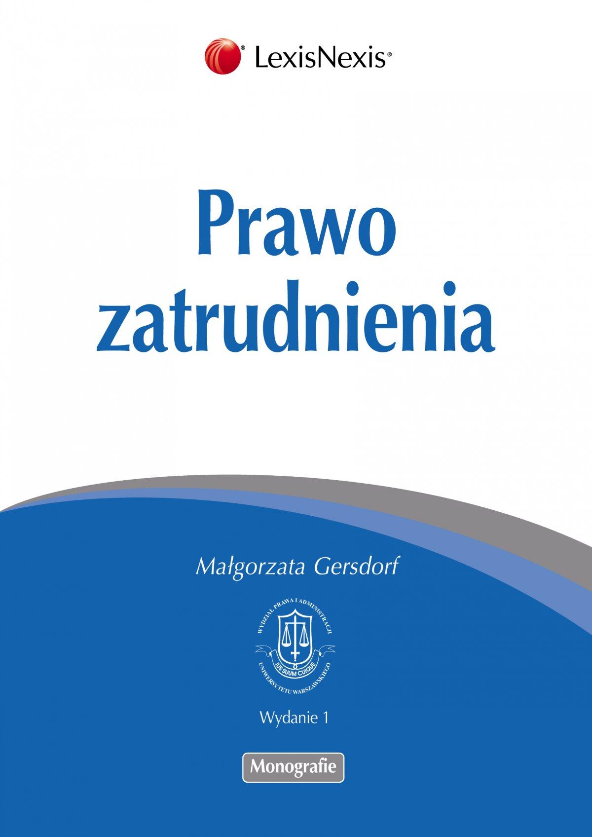 Prawo zatrudnienia - Ebook (Książka EPUB) do pobrania w formacie EPUB