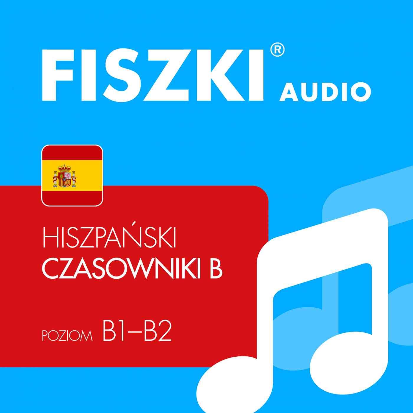 FISZKI audio - j. hiszpański - Czasowniki dla średnio zaawansowanych - Audiobook (Książka audio MP3) do pobrania w całości w archiwum ZIP