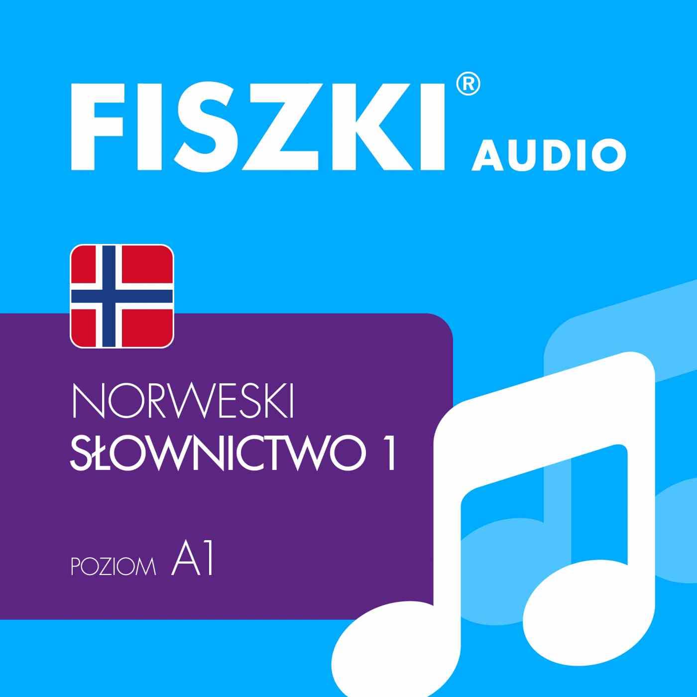 FISZKI audio - j. norweski - Słownictwo 1 - Audiobook (Książka audio MP3) do pobrania w całości w archiwum ZIP