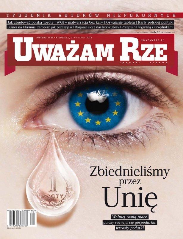 """""""Uważam Rze. Inaczej pisane"""" nr 22/2013 - Ebook (Książka PDF) do pobrania w formacie PDF"""