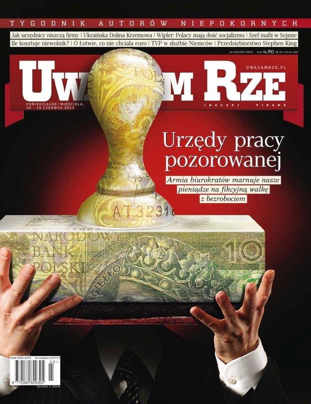 """""""Uważam Rze. Inaczej pisane"""" nr 23/2013 - Ebook (Książka PDF) do pobrania w formacie PDF"""