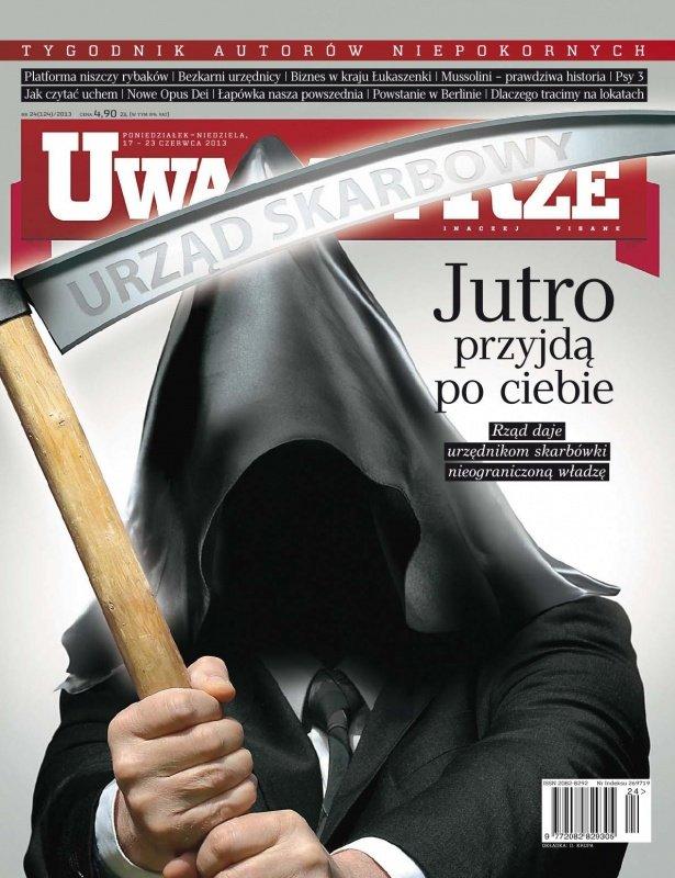"""""""Uważam Rze. Inaczej pisane"""" nr 24/2013 - Ebook (Książka PDF) do pobrania w formacie PDF"""