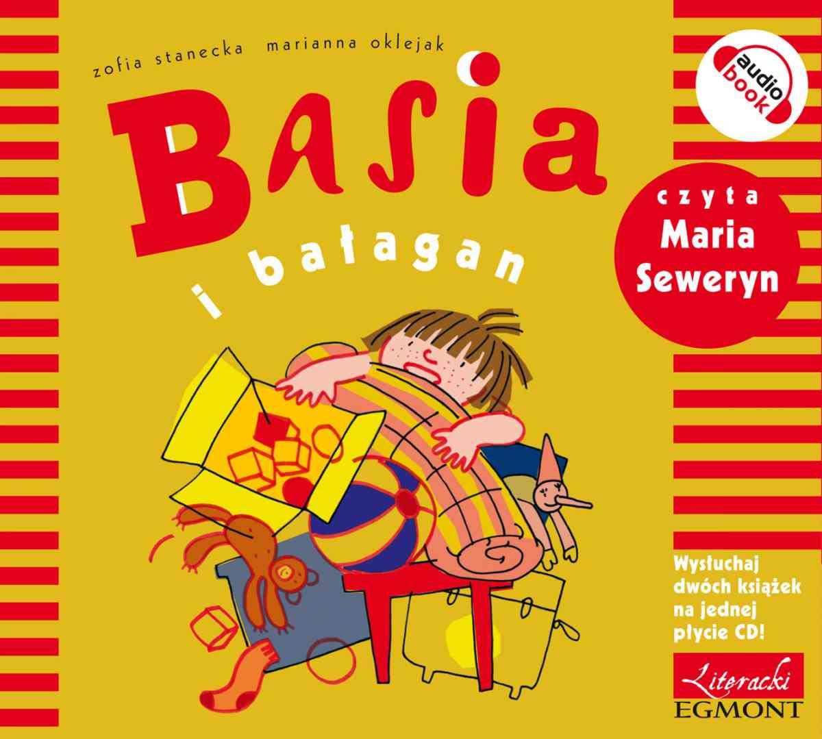 Basia i bałagan - Audiobook (Książka audio MP3) do pobrania w całości w archiwum ZIP