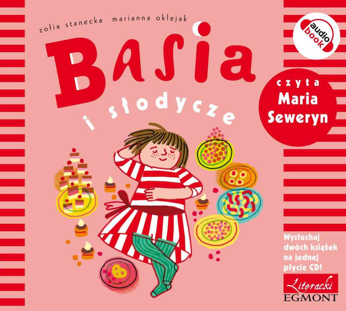 Basia i słodycze - Audiobook (Książka audio MP3) do pobrania w całości w archiwum ZIP