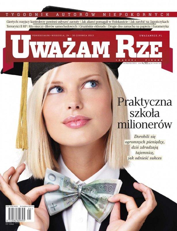 """""""Uważam Rze. Inaczej pisane"""" nr 25/2013 - Ebook (Książka PDF) do pobrania w formacie PDF"""
