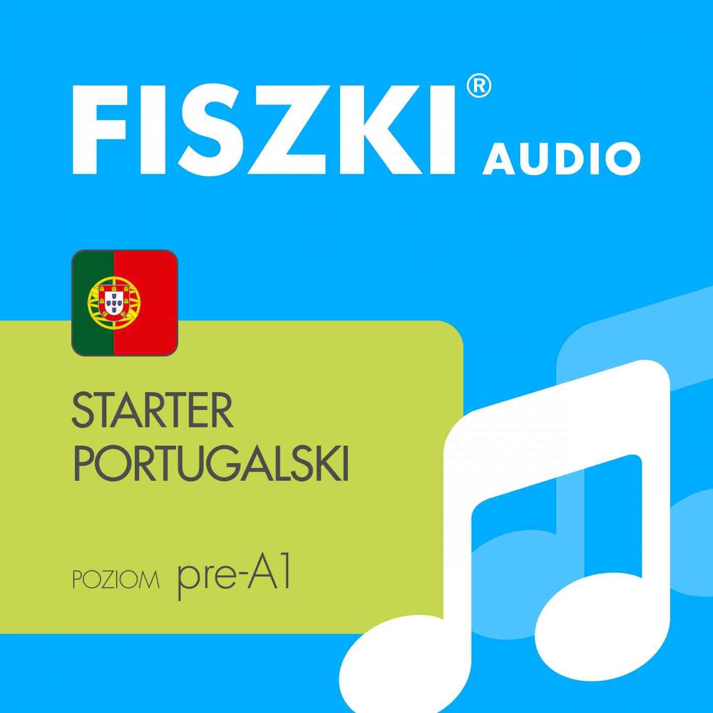 FISZKI audio - j. portugalski - Starter - Audiobook (Książka audio MP3) do pobrania w całości w archiwum ZIP