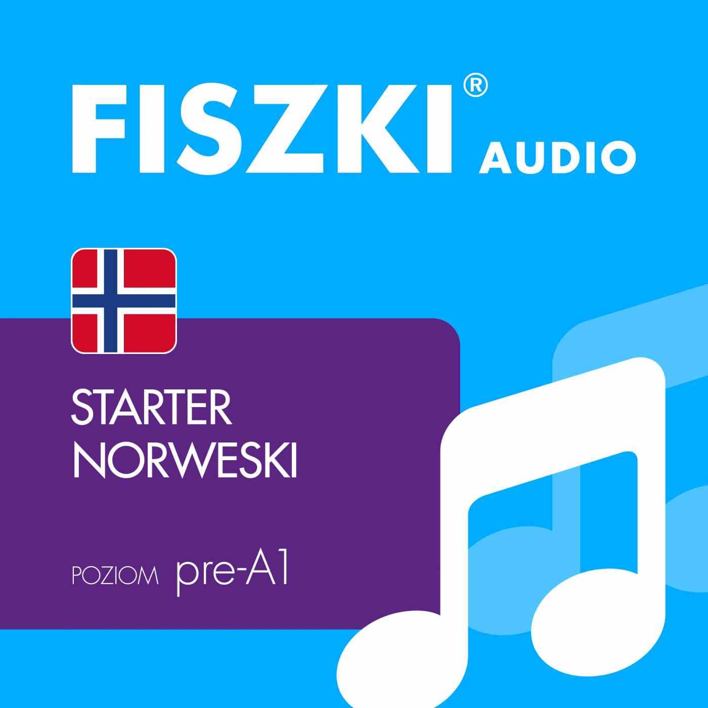 FISZKI audio - j. norweski - Starter - Audiobook (Książka audio MP3) do pobrania w całości w archiwum ZIP