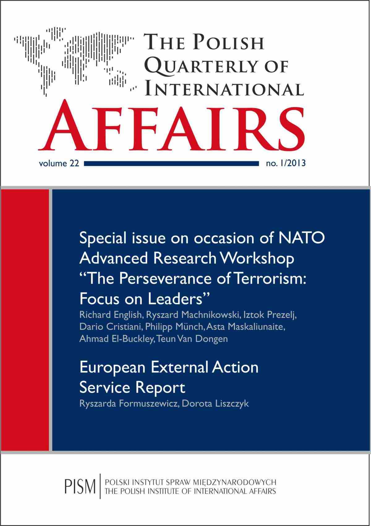 The Polish Quarterly of International Affairs 1/2013 - Ebook (Książka na Kindle) do pobrania w formacie MOBI