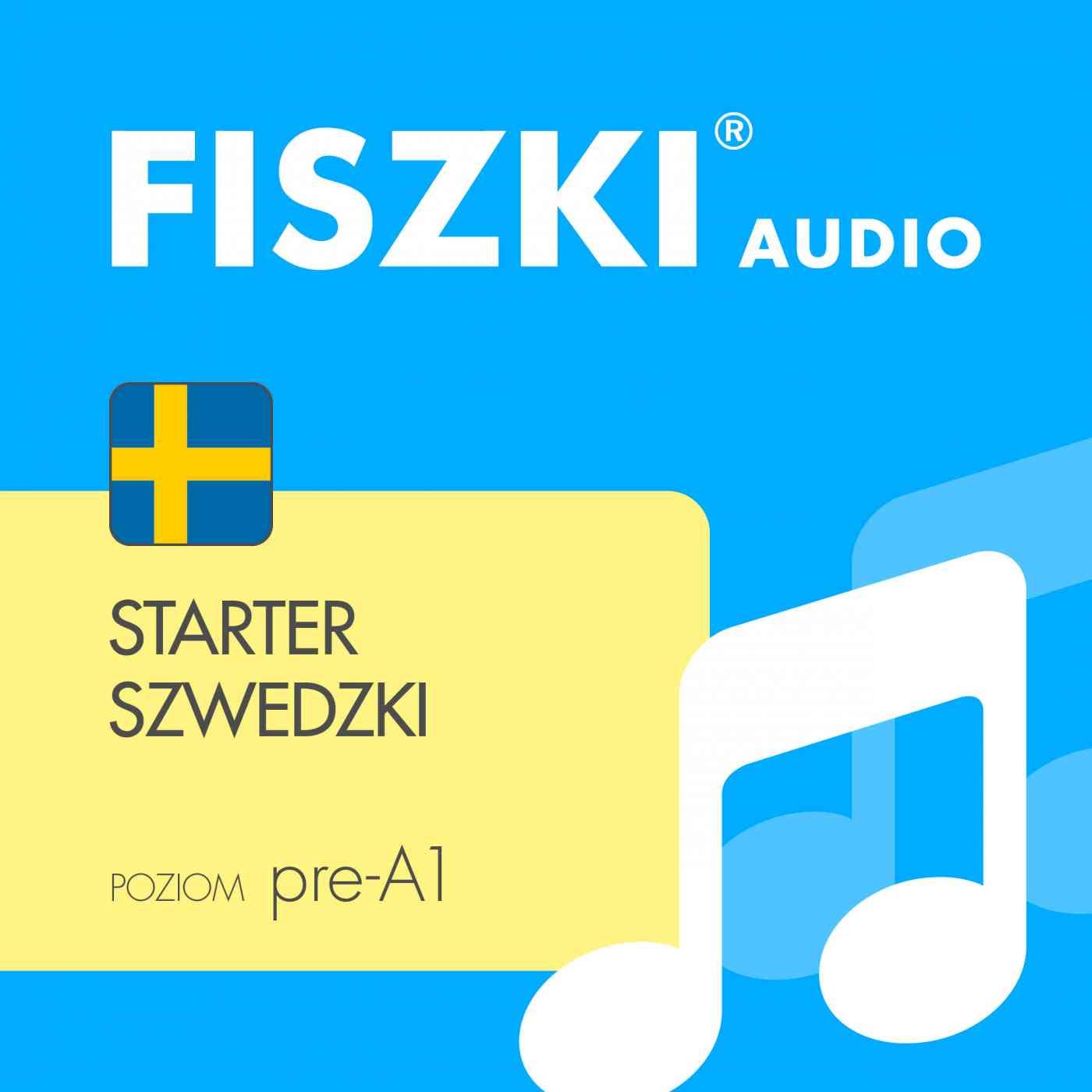FISZKI audio - j. szwedzki - Starter - Audiobook (Książka audio MP3) do pobrania w całości w archiwum ZIP