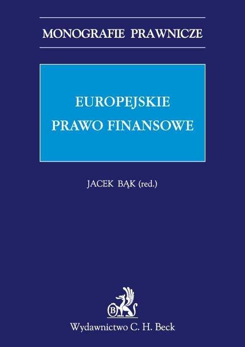Europejskie prawo finansowe - Ebook (Książka PDF) do pobrania w formacie PDF