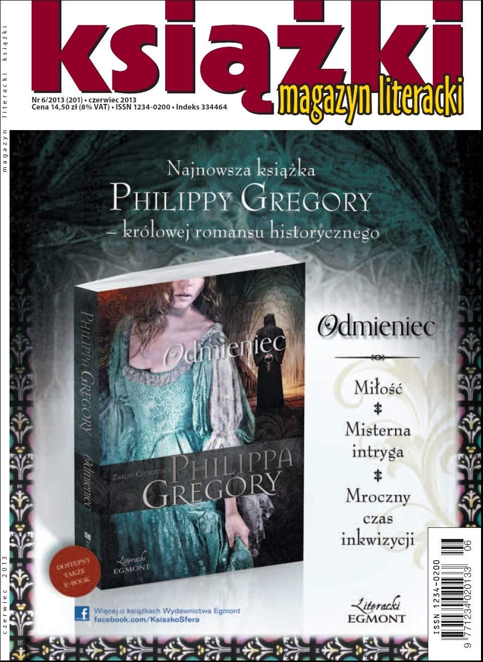 Magazyn Literacki KSIĄŻKI nr 6/2013 - Ebook (Książka PDF) do pobrania w formacie PDF