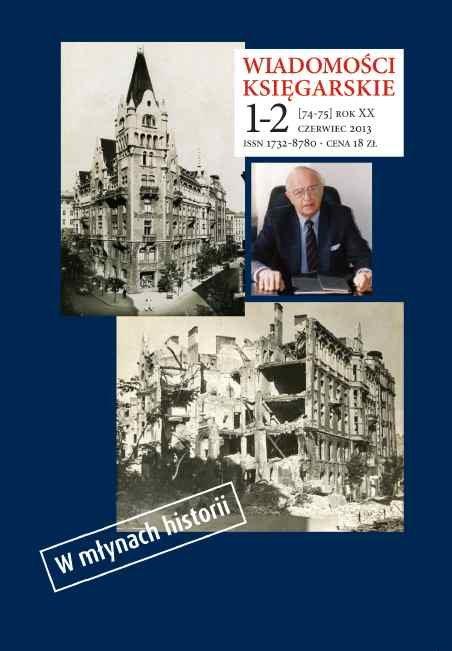 Wiadomości Księgarskie nr 1-2/2013 (74-75) - Ebook (Książka PDF) do pobrania w formacie PDF