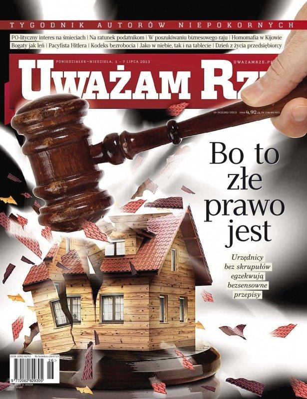 """""""Uważam Rze. Inaczej pisane"""" nr 26/2013 - Ebook (Książka PDF) do pobrania w formacie PDF"""