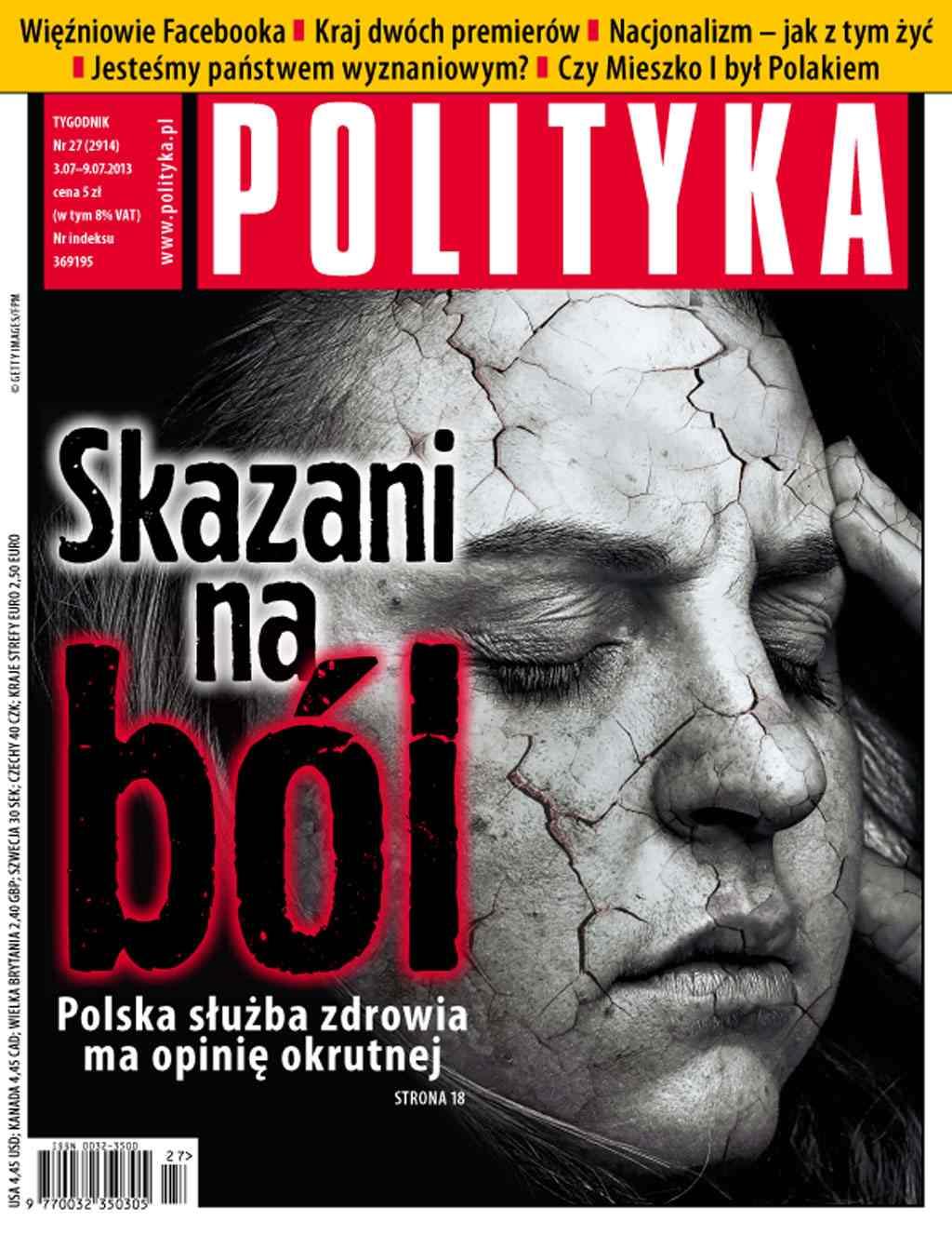 Polityka nr 27/2013 - Ebook (Książka PDF) do pobrania w formacie PDF