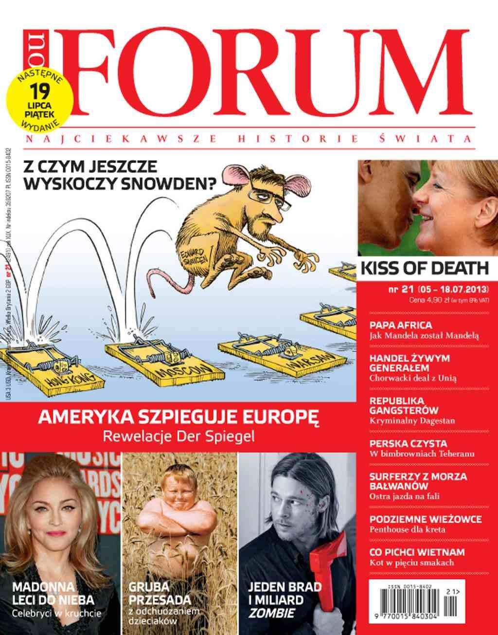 Forum nr 21/2013 - Ebook (Książka PDF) do pobrania w formacie PDF