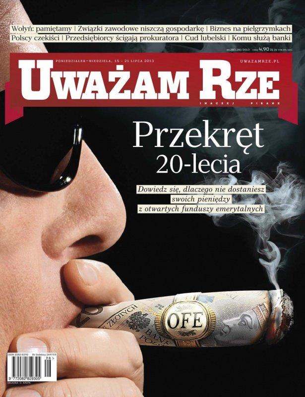 """""""Uważam Rze. Inaczej pisane"""" nr 28/2013 - Ebook (Książka PDF) do pobrania w formacie PDF"""