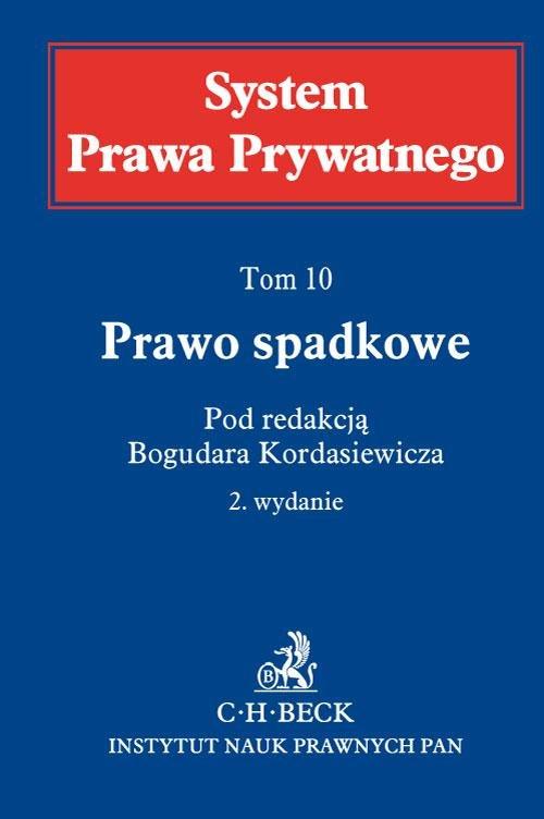 Prawo spadkowe. System Prawa Prywatnego. Tom 10 - Ebook (Książka EPUB) do pobrania w formacie EPUB