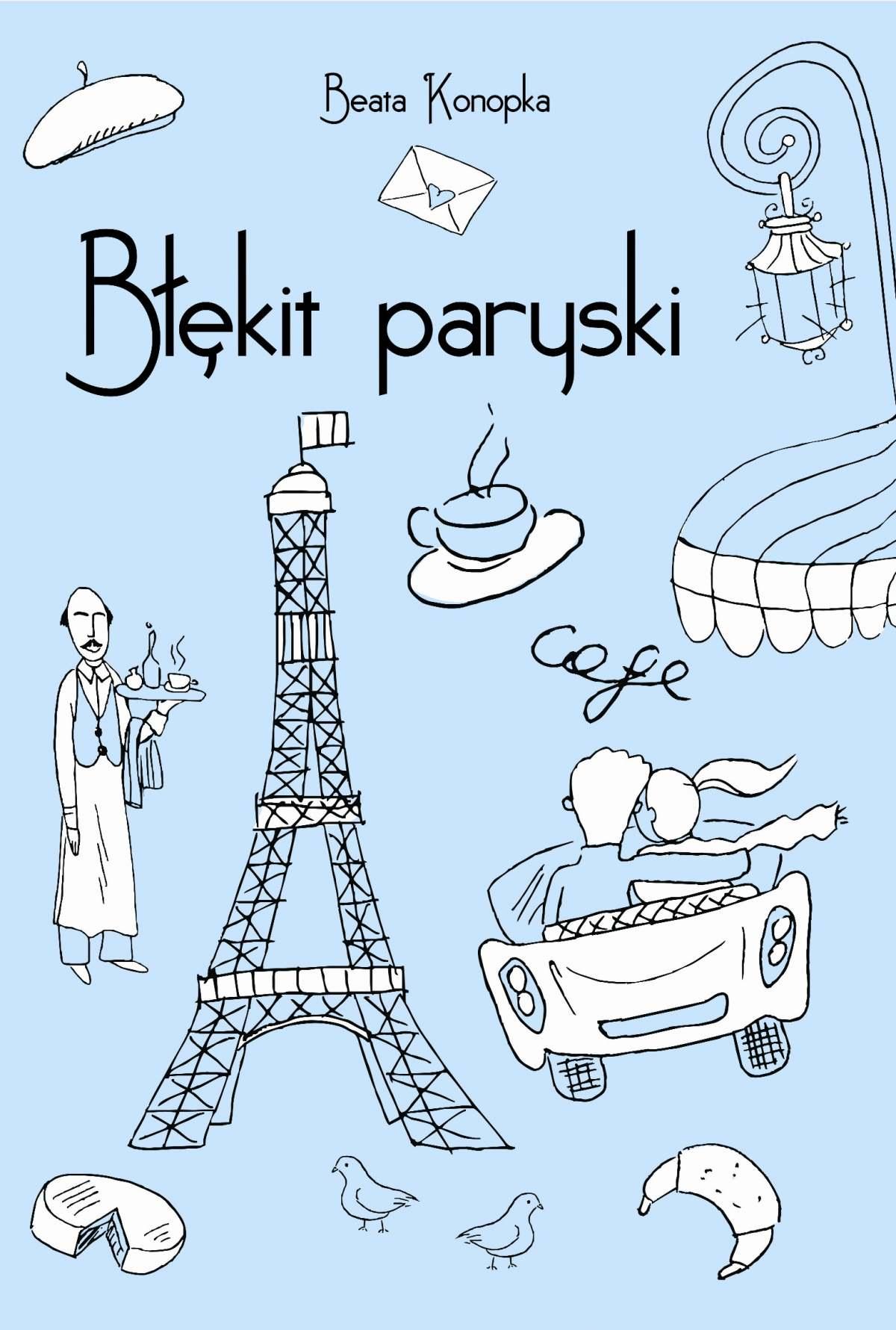 Błękit paryski - Ebook (Książka EPUB) do pobrania w formacie EPUB