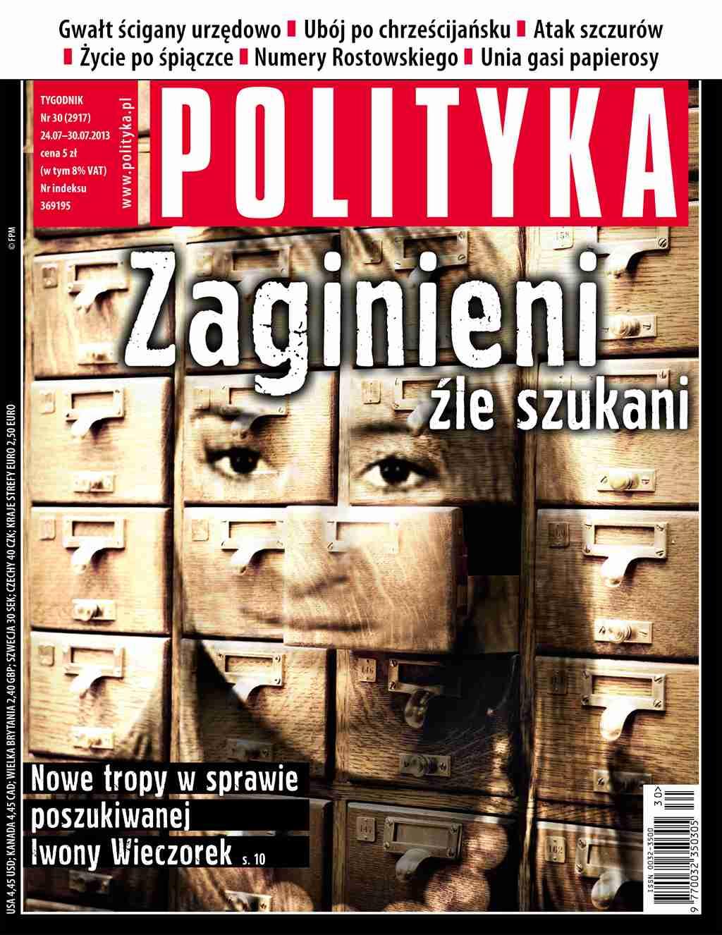 Polityka nr 30/2013 - Ebook (Książka PDF) do pobrania w formacie PDF