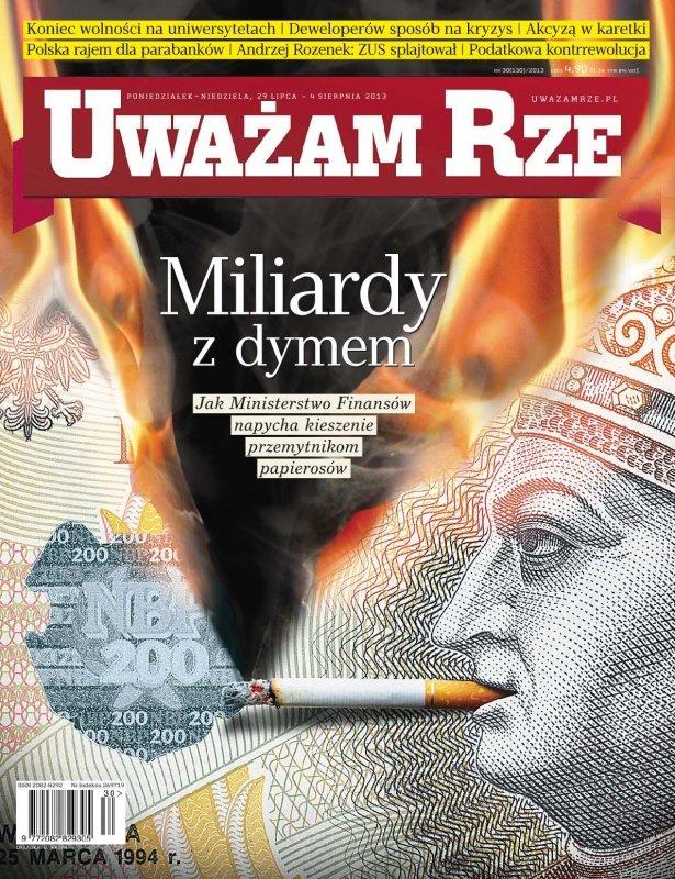 """""""Uważam Rze. Inaczej pisane"""" nr 30/2013 - Ebook (Książka PDF) do pobrania w formacie PDF"""