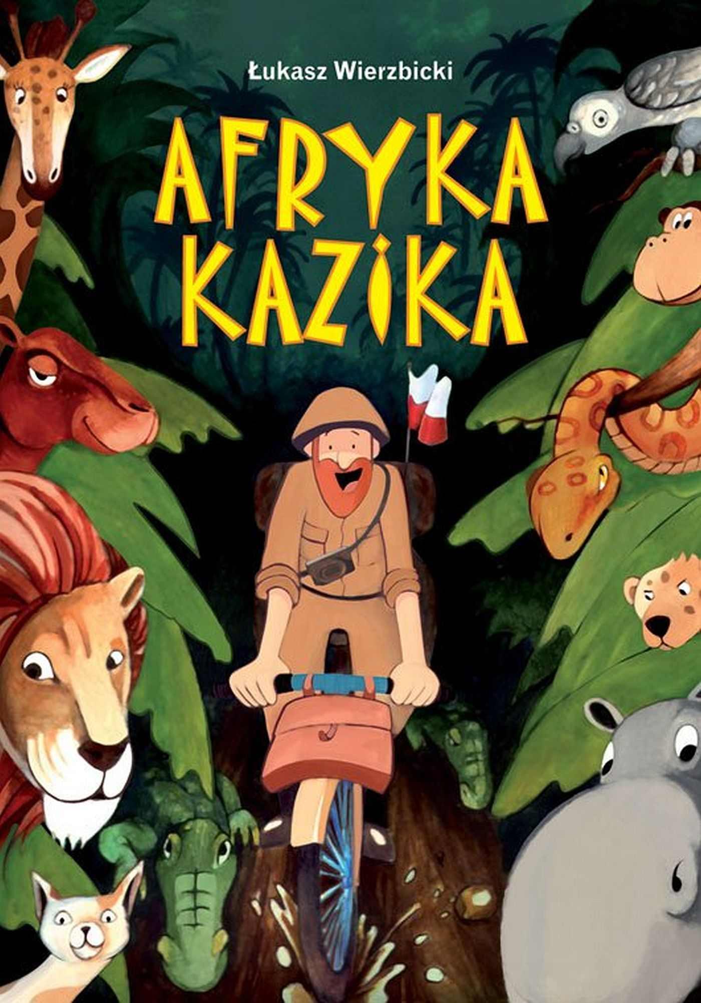 Afryka Kazika - Ebook (Książka EPUB) do pobrania w formacie EPUB