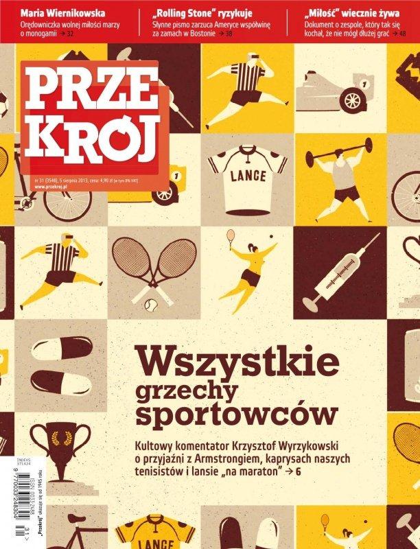 """""""Przekrój"""" nr 31/2013 - Ebook (Książka PDF) do pobrania w formacie PDF"""
