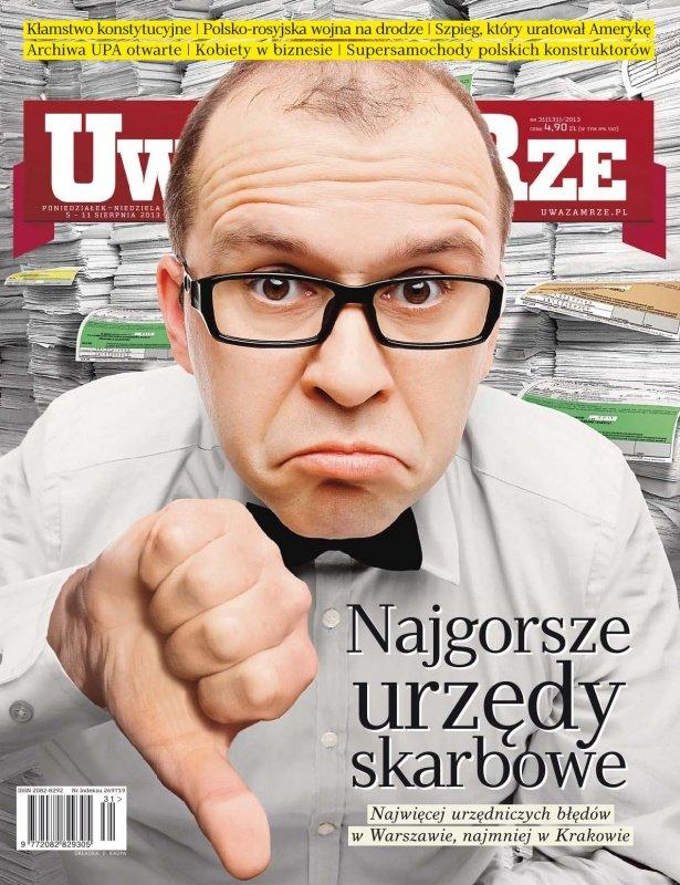 """""""Uważam Rze. Inaczej pisane"""" nr 31/2013 - Ebook (Książka PDF) do pobrania w formacie PDF"""