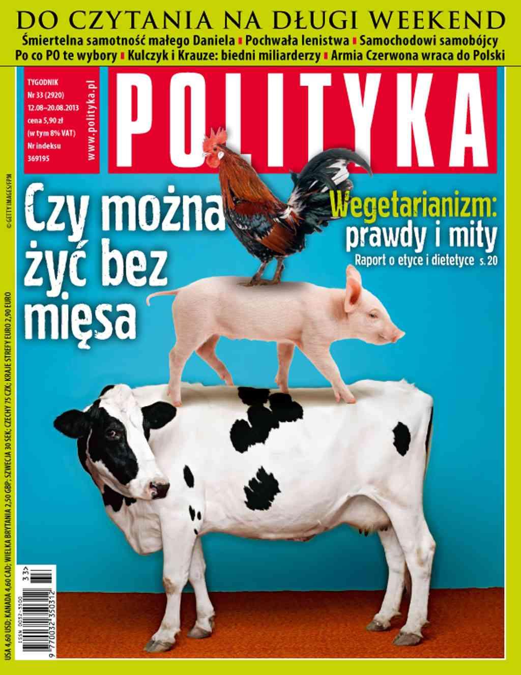 Polityka nr 33/2013 - Ebook (Książka PDF) do pobrania w formacie PDF