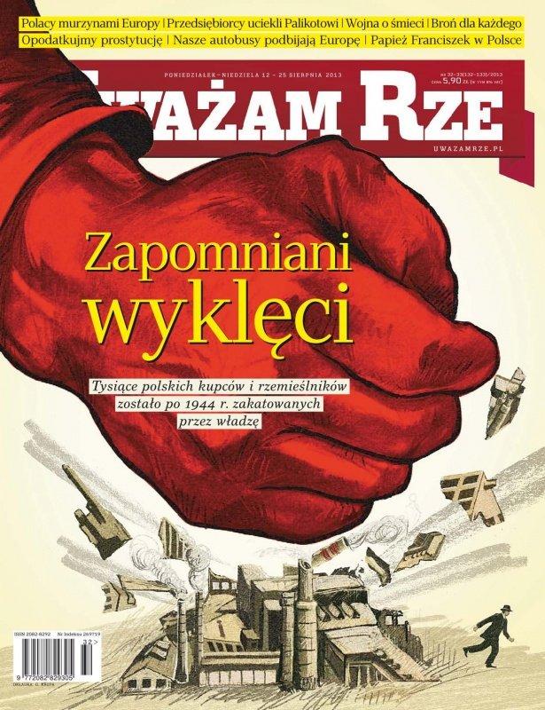 """""""Uważam Rze. Inaczej pisane"""" nr 32-33/2013 - Ebook (Książka PDF) do pobrania w formacie PDF"""