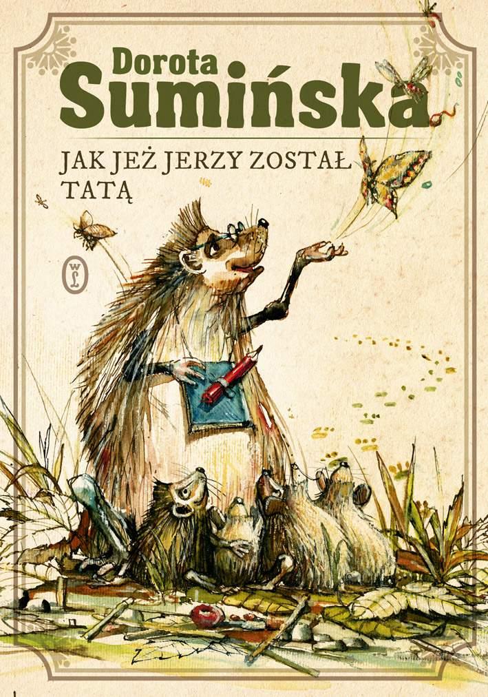 Jak jeż Jerzy został tatą - Ebook (Książka na Kindle) do pobrania w formacie MOBI